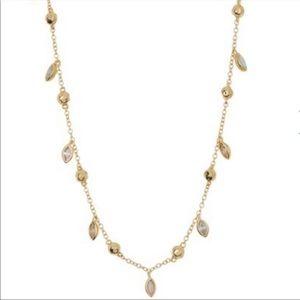 Rumi White Opal Confetti Chain Necklace